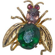 Vintage Honey Bee/Fly pin Made in Czechoslovakia 1918 – 1938