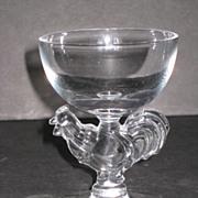 Morgantown Chanticleer Cocktail Glass