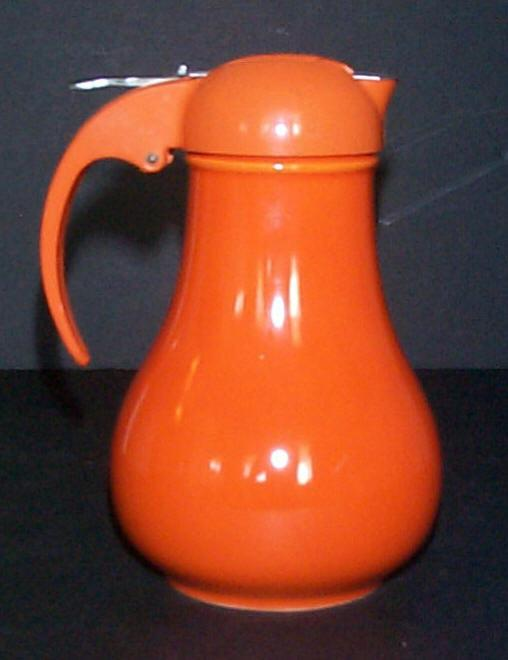 Vintage Fiesta Syrup in Red