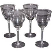 Fostoria Tempo Water Glasses, set of 4