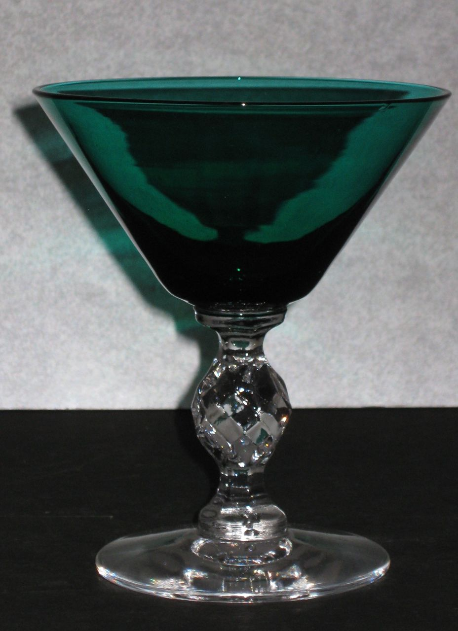 Morgantown Roanoke Saucer Champagne Glass