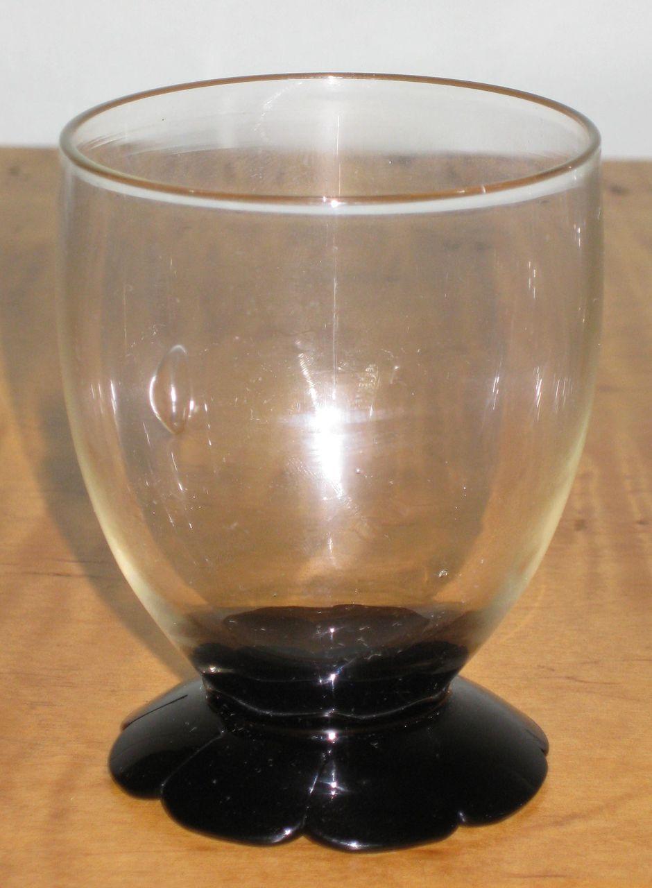 Fry Petal Foot Juice Glasses, set of 8