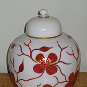 Consolidated Con Cora Large Ginger Jar