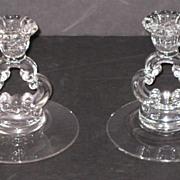 Cambridge Keyhole Candleholders