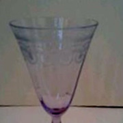 Morgantown Callahan Thistle Water Glasses
