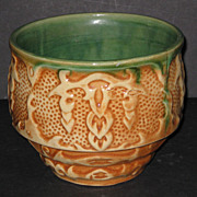 Early Hull Stoneware Jardinière #551
