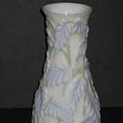 Phoenix Reverse Decorated Philodendron Vase