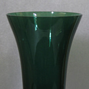 Tiffin Killarney Green Flared Vase #17430