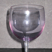 Tiffin Connoisseur Line Rhine Wine Glasses