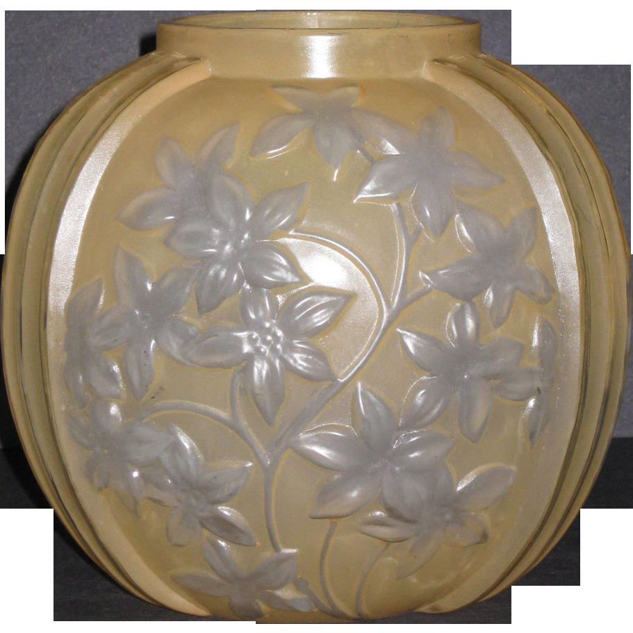 Phoenix Reuben Yellow Starflower Vase