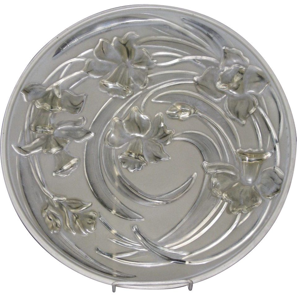 Phoenix Jonquil Platter in White Wash