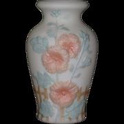 Consolidated Hollyhocks Vase