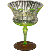 Utility Glass Works Nilotus Champagne Glass