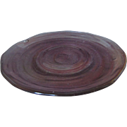Consolidated Catalonian Amethyst saucer