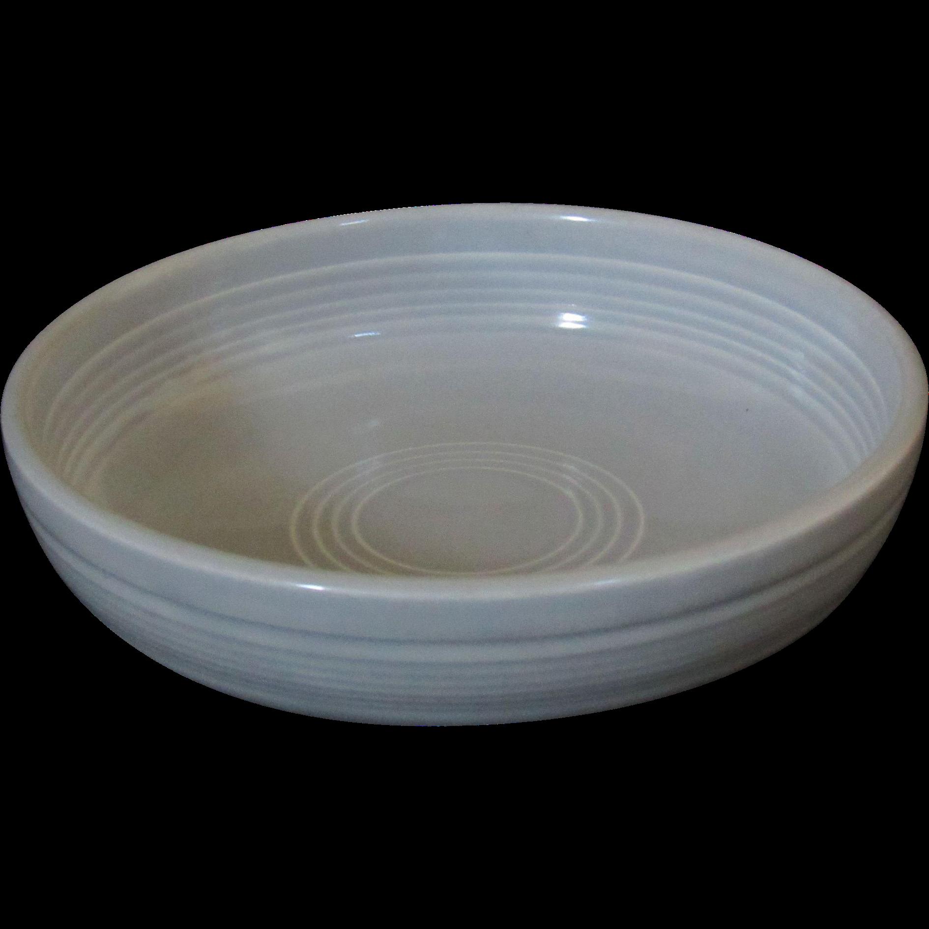 Fiesta Gray Dessert Bowl