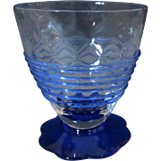 Fry Petal Foot Juice Glasses with optic and threading