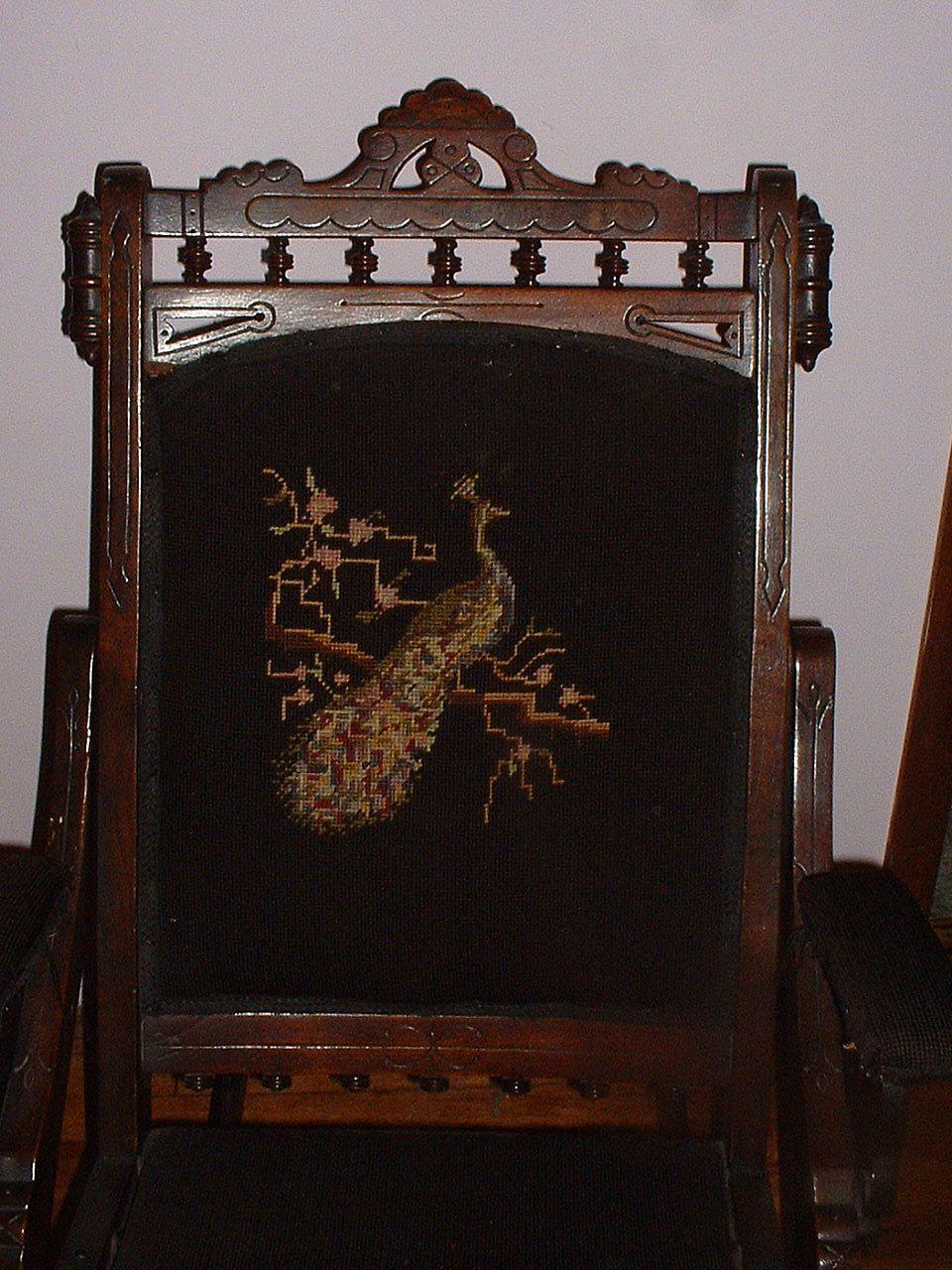 Vintage Ornate Rocking Chair Rocker