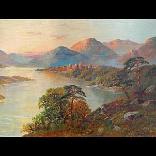 F E Jamieson (1834 - 1899) . Listed Artist . Oil Painting