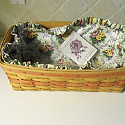 Longaberger 1996 Mother's Day Vanity Basket 14753