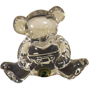 Waterford Baby Bear Lead Crystal Collectible Figurine