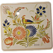 Henriot Quimper Designer Cookie Tin FRANCE
