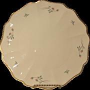 Vintage Lenox Rose Manor Cake Plate
