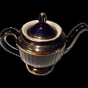 Vintage Hall Cobalt 6 Cup Teapot