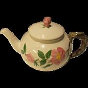 Vintage Franciscan Gladding McBean Desert Rose 4 Cup Teapot # 2065 USA