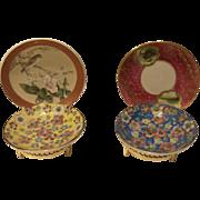 Vintage Japanese Set of Small Porcelain Plates
