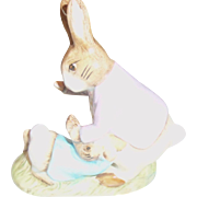 Beswick Mr. Benjamin Bunny and Peter Rabbit ENGLAND 1975