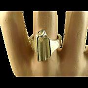 Lapponia Finland Bjorn Weckstrom Silver Vintage Ring ~ 1995