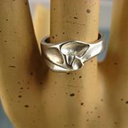 Lapponia Finland Silver Vintage Ring ~ Bjorn Weckstrom