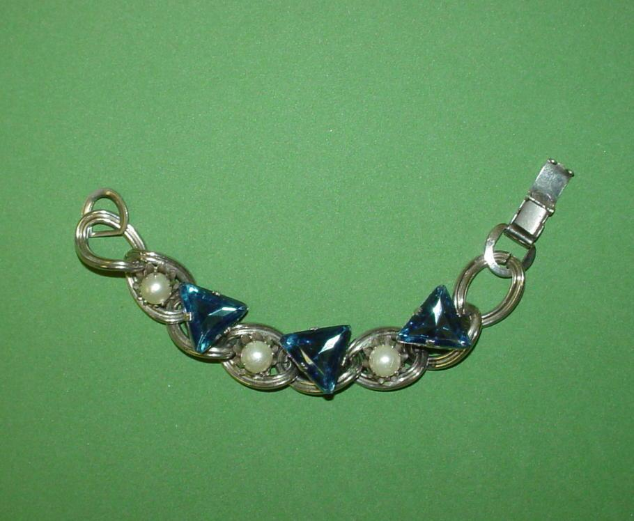 Deco Inspired Chunky Bracelet