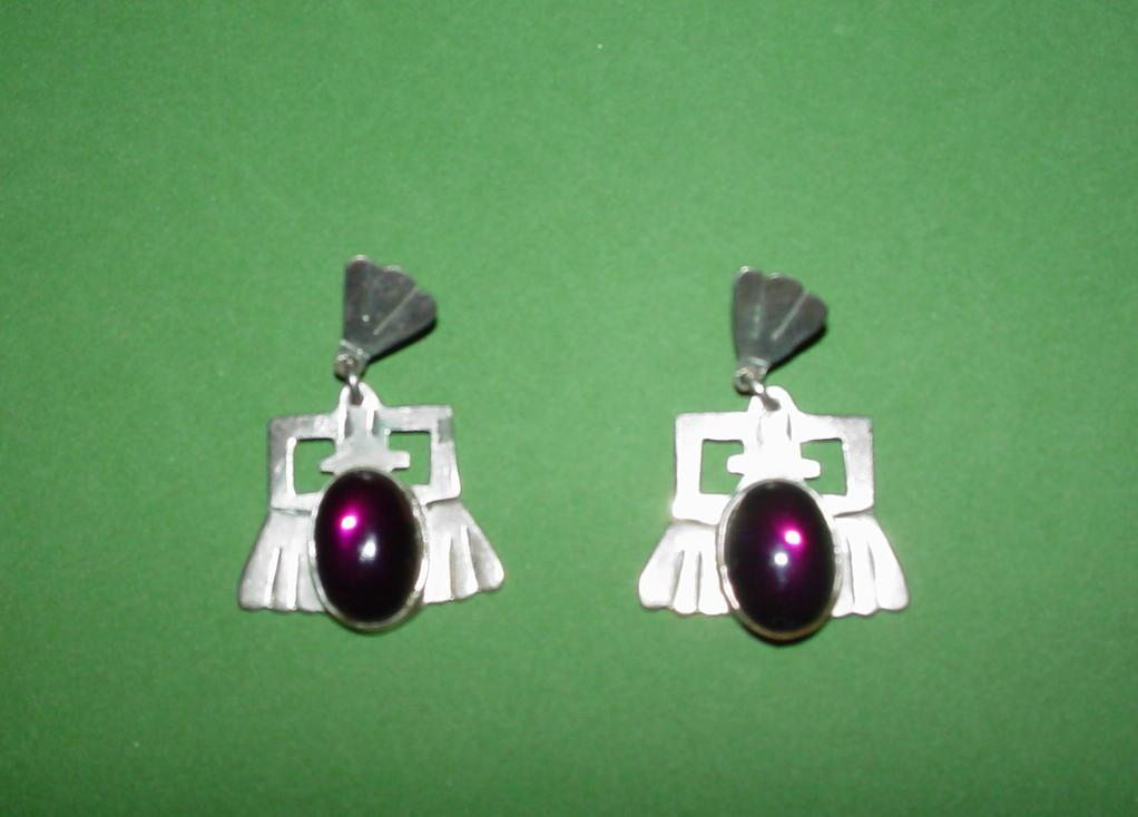 Wonderful Vintage Mexican Earrings!