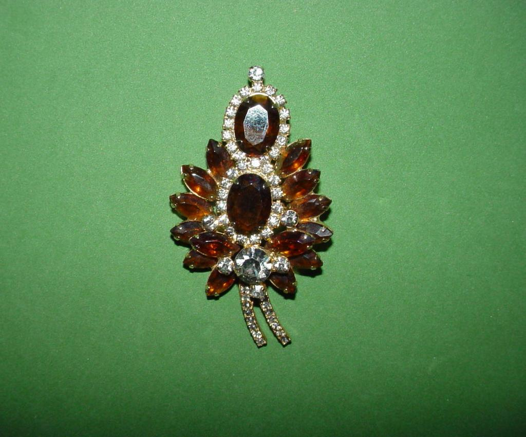 Juliana Topaz Brooch