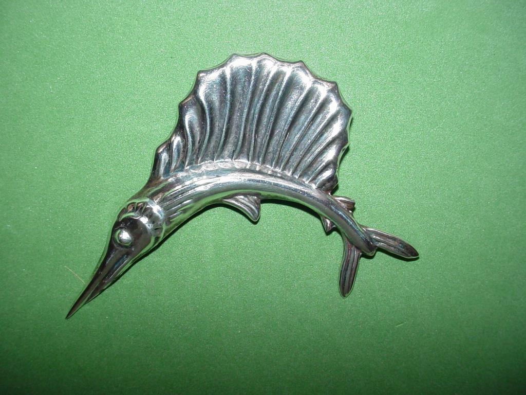 Vintage Mexican Swordfish Pin