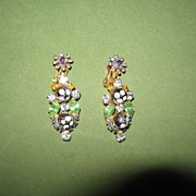 Juliana Polka Dot Earrings