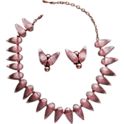 Fabulous Renoir Copper Necklace Set!