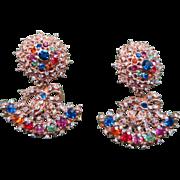 Dramatic Tara Shoulder Duster Earrings