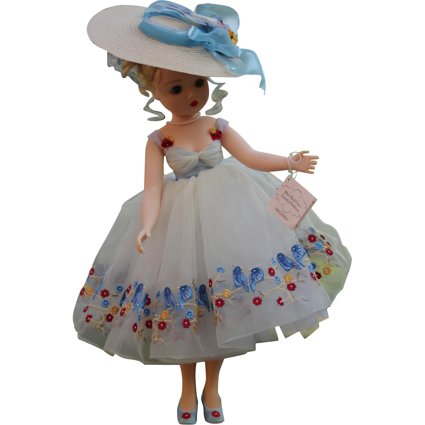 Madame Alexander Cissy Blue Bird #33165- Excellent!