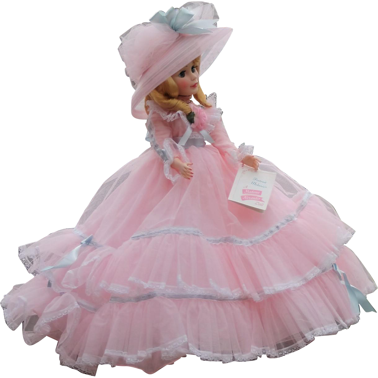 Vintage Madame Alexander Melanie Portrait Doll - MIB!!