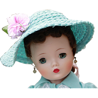 Madame Alexander Original Vintage Cissy Hat 1957 - EVC!!