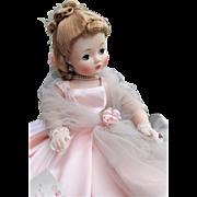 Madame Alexander Vintage Cissy Pink Tulle Wrap - VHTF 1958