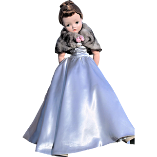 Madame Alexander Cissy Doll in Satin Gown - Tagged