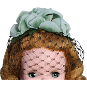 Made for Madame Alexander Cissy Doll Hat & Veil