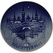 1995 Bing & Grondahl Christmas Plate The Towers of Copenhagen