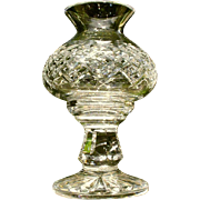 Waterford Crystal Hurricane Candle Lamp Giftware Line