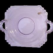 Fostoria Mayfair Wisteria Lemon Plate Neodymium