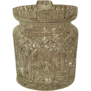 Waterford Crystal Lismore Cracker/Cookie Jar