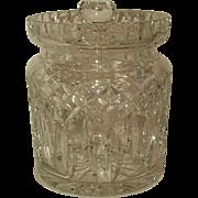 Waterford Crystal Lismore Cracker/Cookie Jar